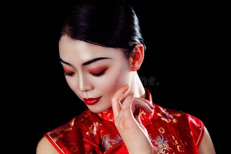 Fille asiatique photographie stock