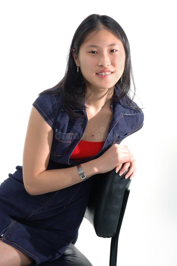Fille Asiatique 5 Photos libres de droits