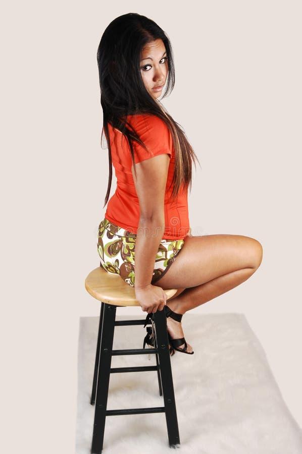 fille asiatique belle photographie stock