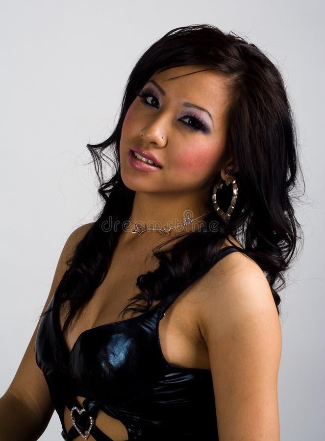 Fille asiatique sexy image libre de droits