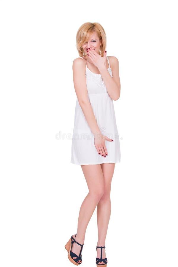 Download Fille Assez Jeune Se Sentant Timide, Couvrant Son Visage Image stock - Image du femme, visage: 56487783