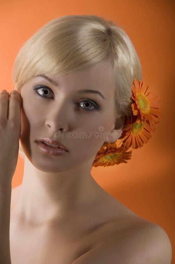 Fille blonde douce photo libre de droits