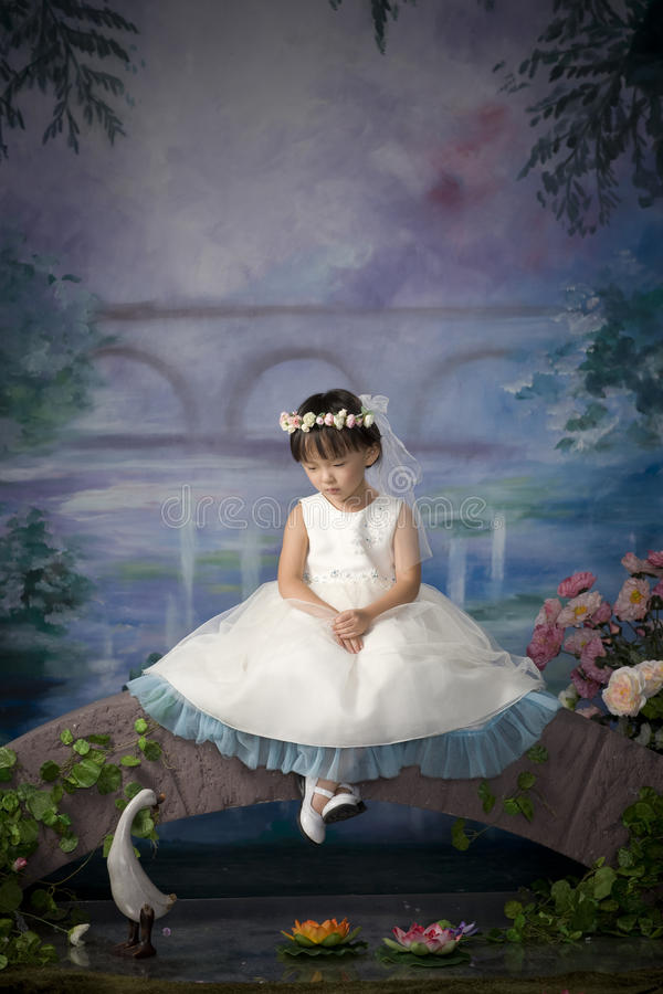 Fille chinoise image stock