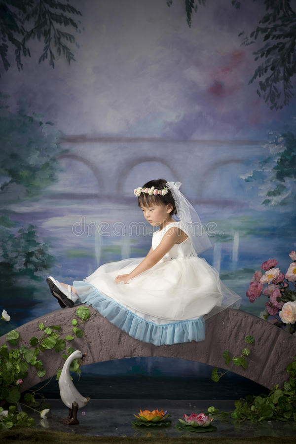 Fille chinoise images stock