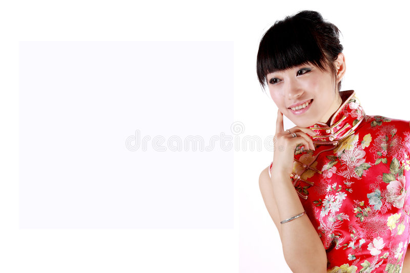 fille chinoise photo stock