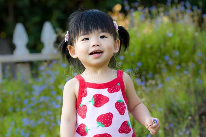 fille chinoise de chéri asiatique peu photos stock