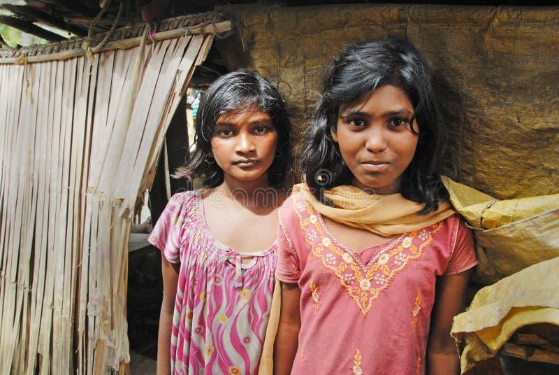 Fille d'adolescents en Inde. photos stock