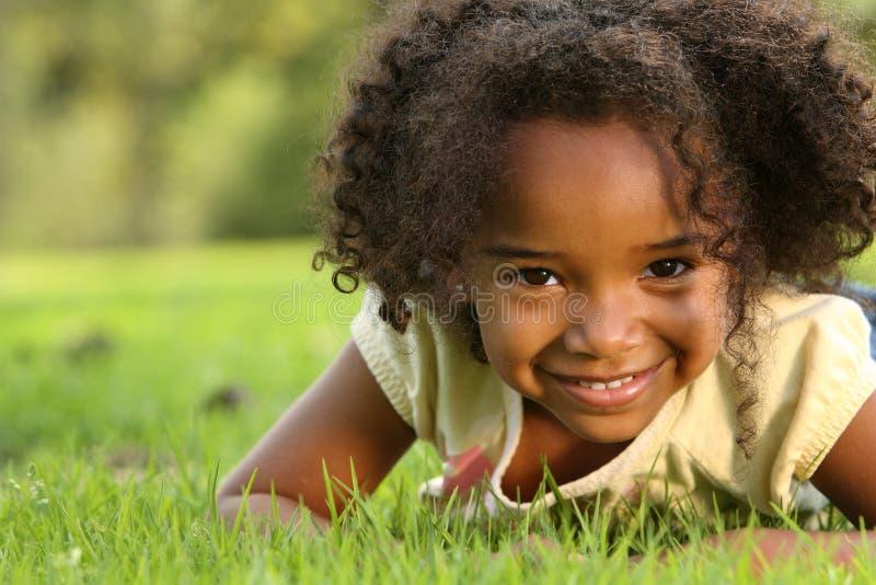 Fille d'Afro photos libres de droits