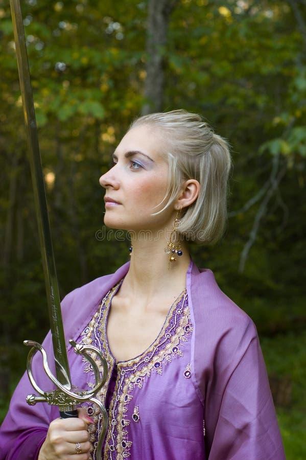 Fille d'elfe images stock