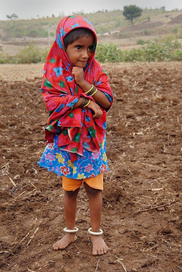 Fille de Banjara en Inde photos stock