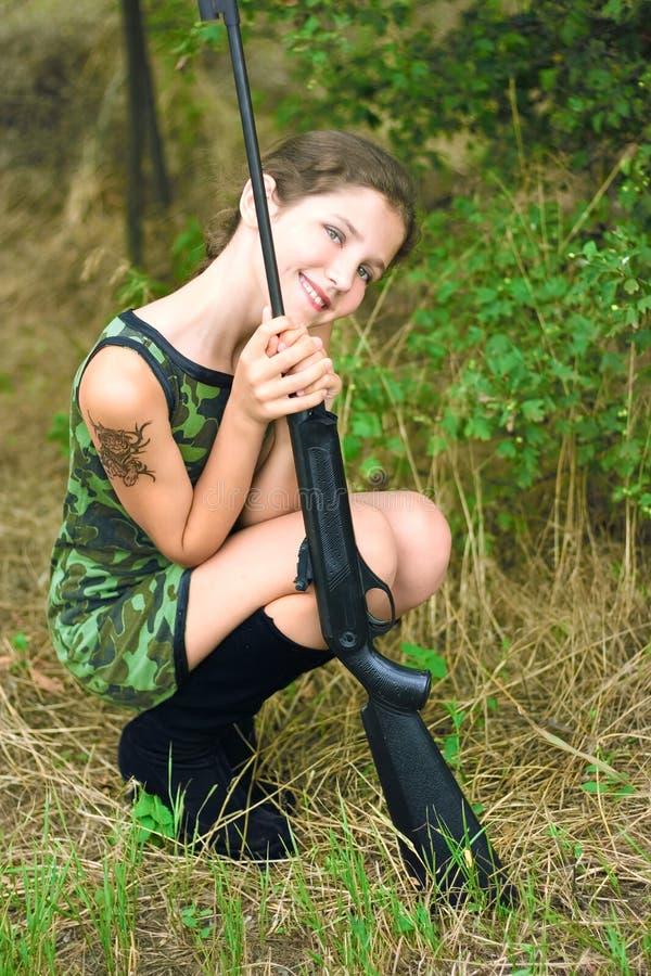 fille de beauté de l'adolescence images libres de droits