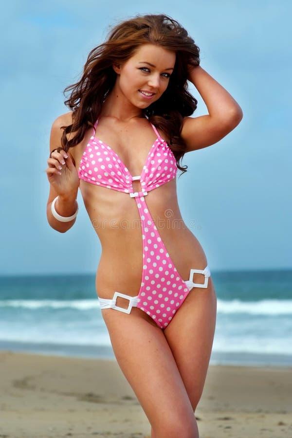 Fille de bikini photos stock