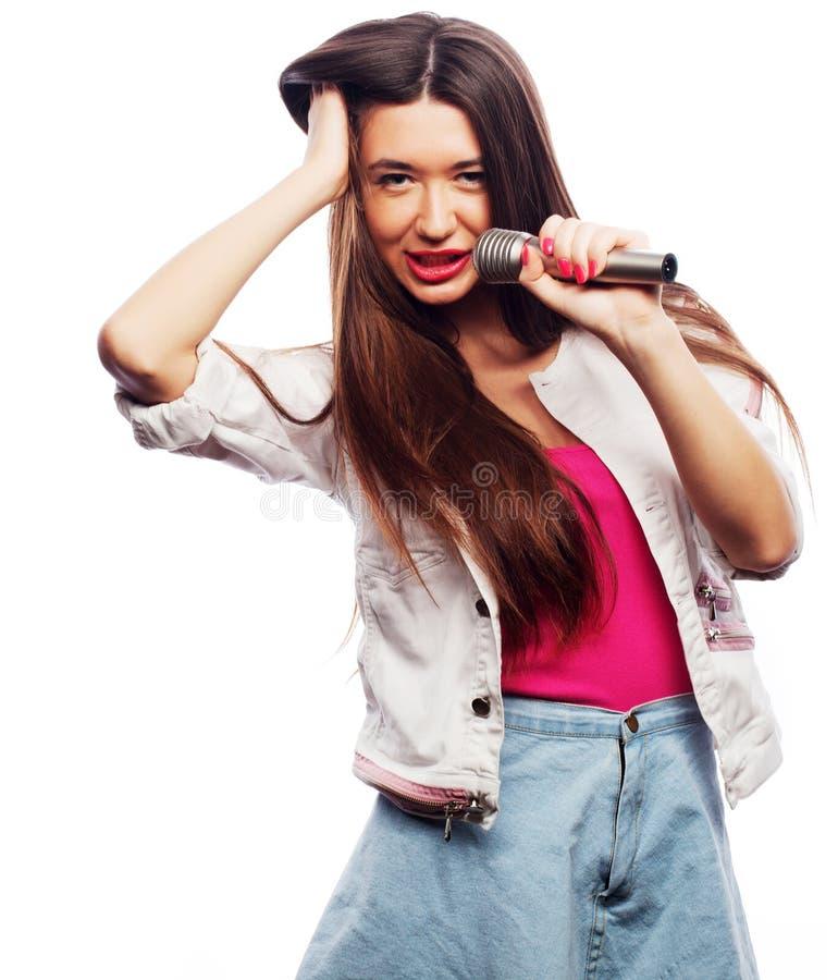 fille de chanteur de charme photo libre de droits