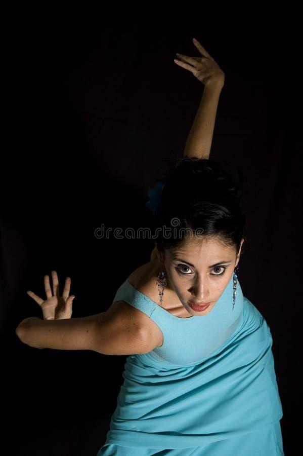 fille de danseur d'isolement photo libre de droits