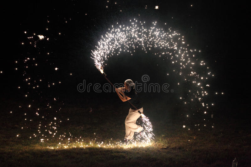 Fille de jongleur photos libres de droits