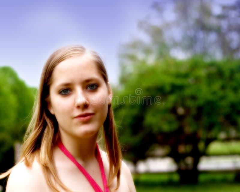 Fille de l'adolescence photographie stock
