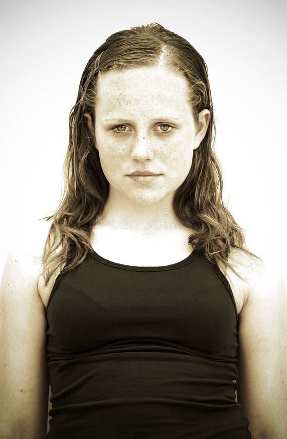 Fille de l'adolescence photos libres de droits