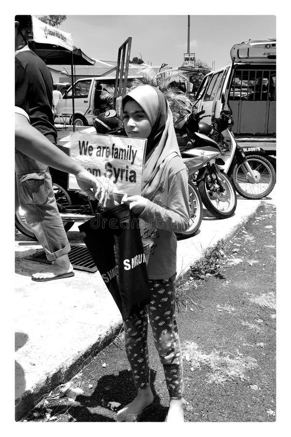 Fille de la Syrie photos stock