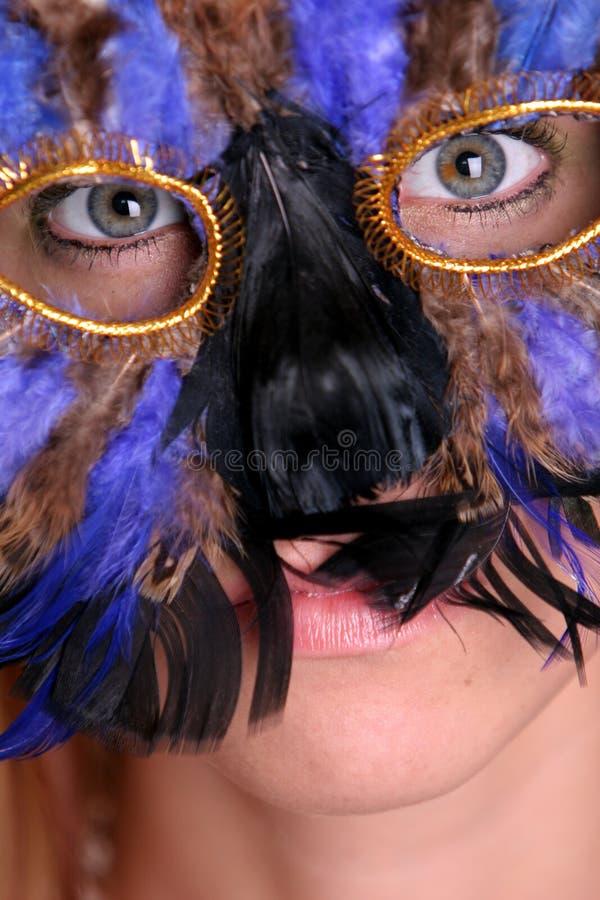 Fille De Mardi Gras Photos stock