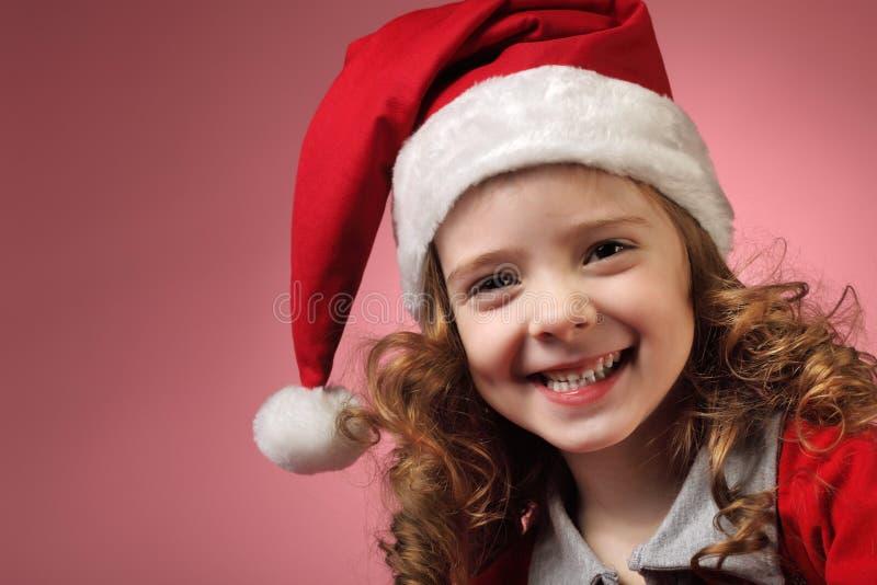 Fille de Noël photos stock