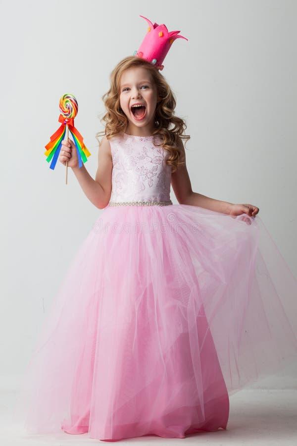 Fille de princesse de sucrerie image libre de droits