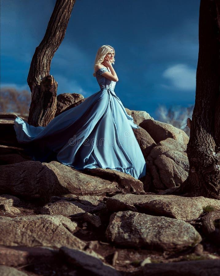fille de robe transparente photo libre de droits