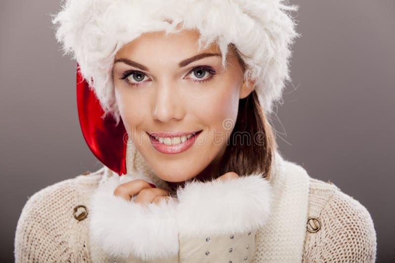 Fille de Santa photos stock