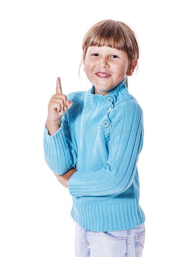 Fille de sourire heureuse photographie stock