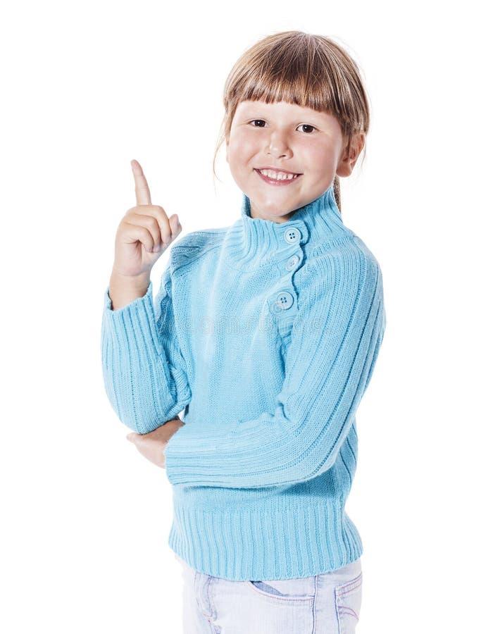 Fille de sourire heureuse photographie stock libre de droits