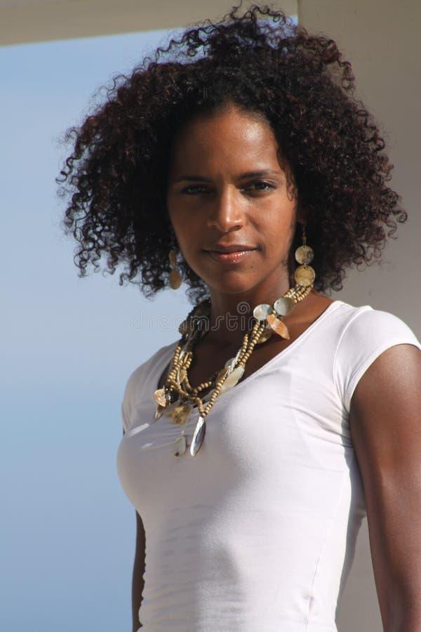 Fille des Caraïbes photographie stock libre de droits