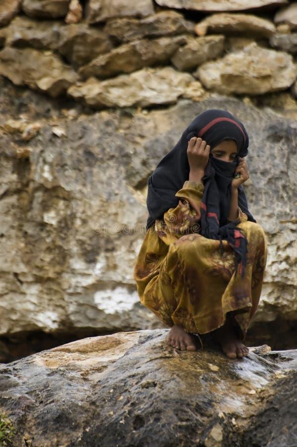 Fille du Moyen-Orient image libre de droits