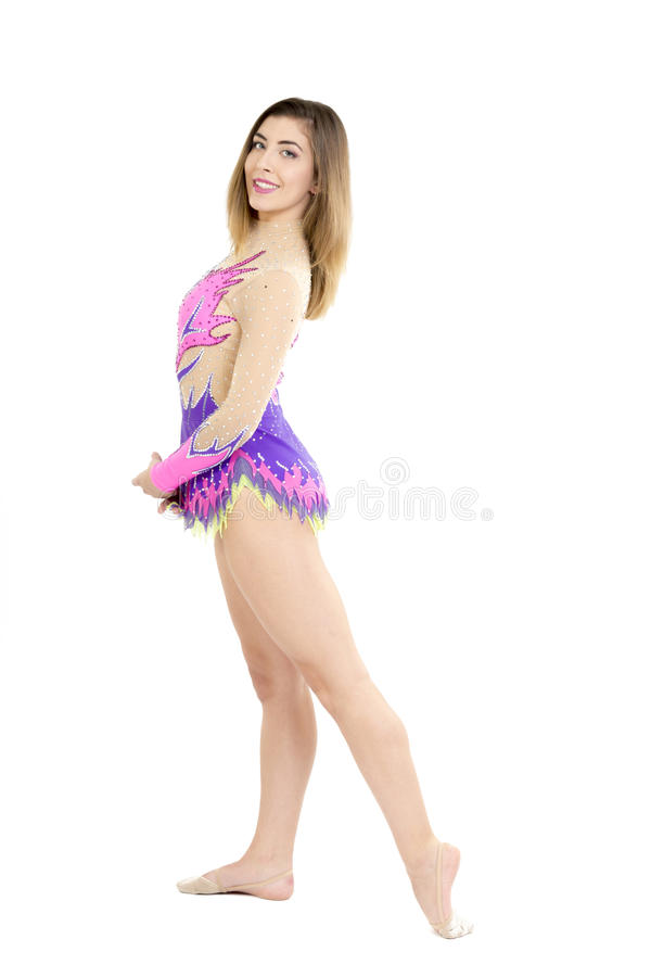 fille gymnastique photographie stock