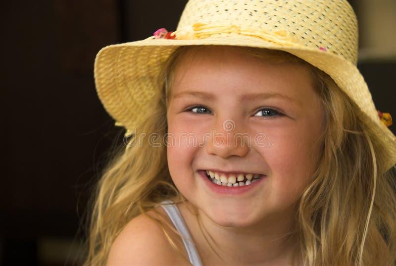 Fille Heureuse ! Photo libre de droits