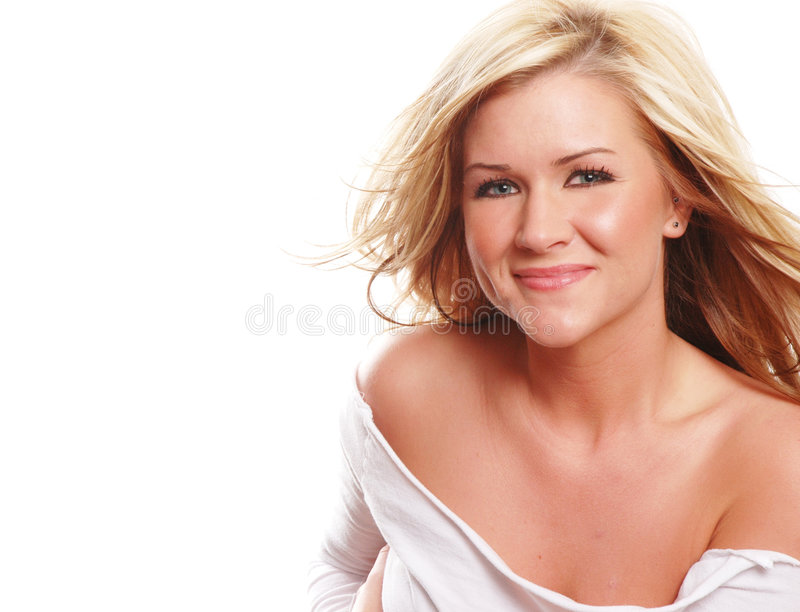 Fille heureuse photographie stock