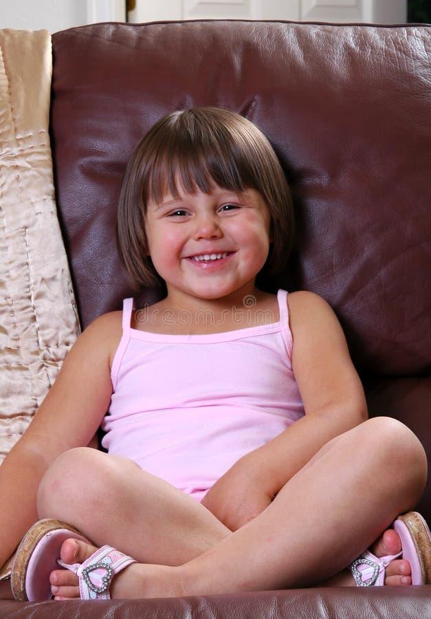 Fille heureuse photos stock