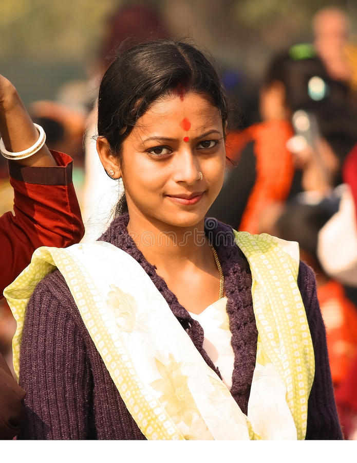 Fille indienne photographie stock