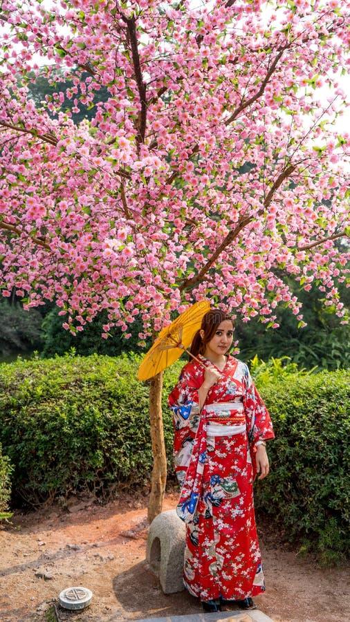 Fille japonaise photos libres de droits
