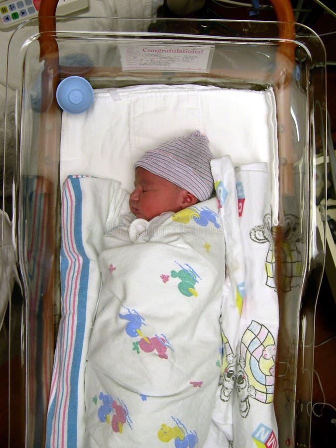 Fille nouveau-née photos stock
