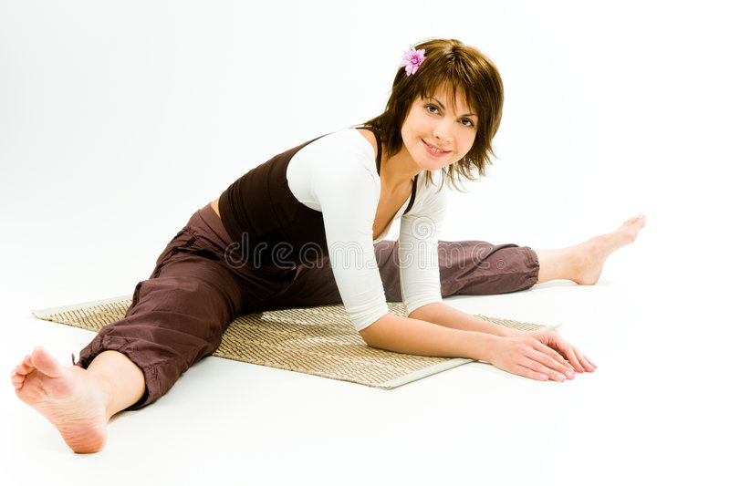 Fille Relaxed image stock
