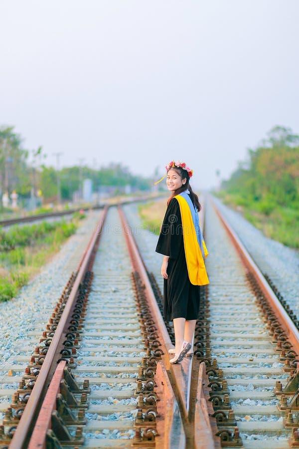 Fille thaïlandaise dans le jour de répétition photo libre de droits