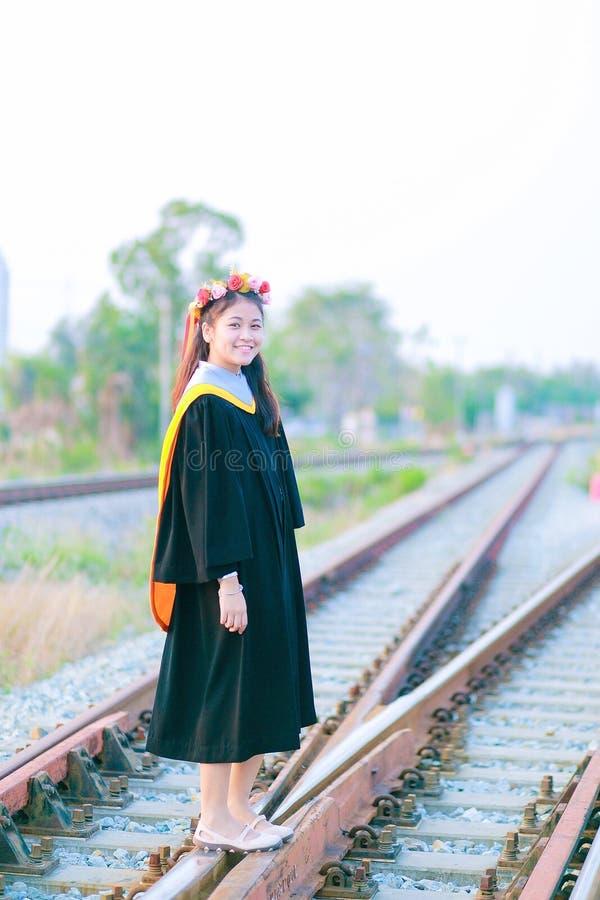 Fille thaïlandaise dans le jour de répétition image libre de droits