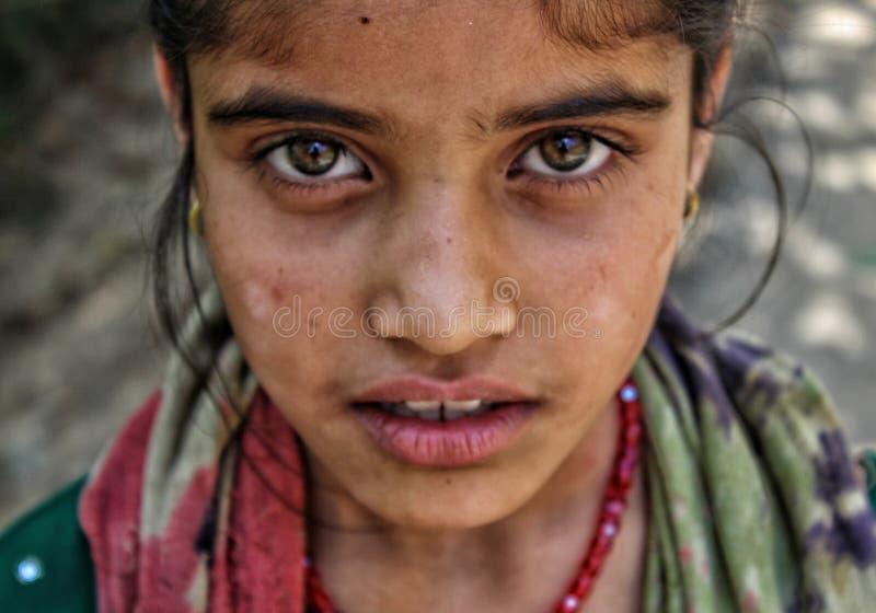 fille tribale image libre de droits