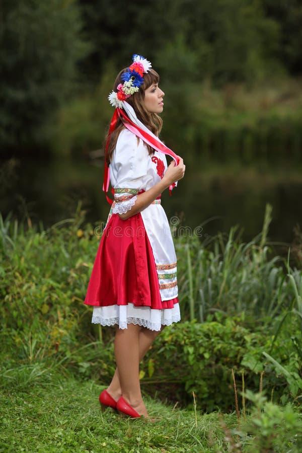 Fille ukrainienne photo stock