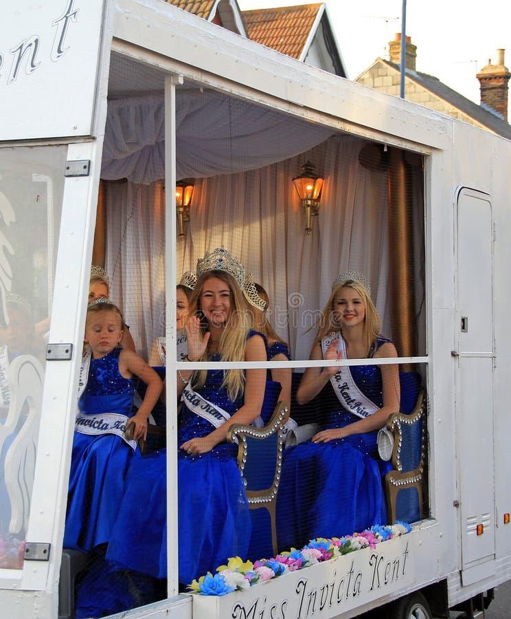 Filles d'Invicta Kent image libre de droits