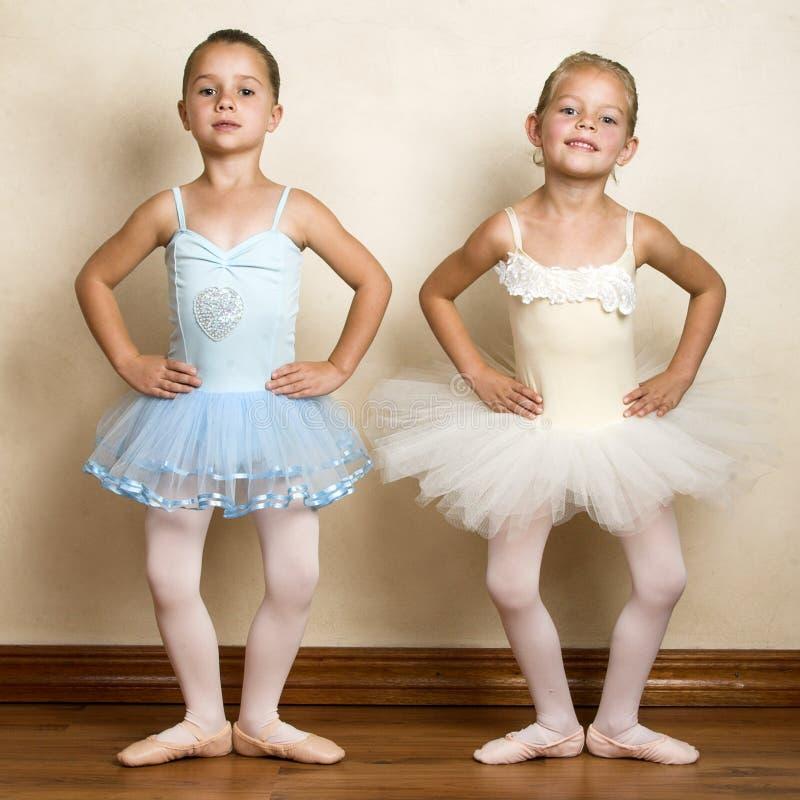 Filles de ballet images stock