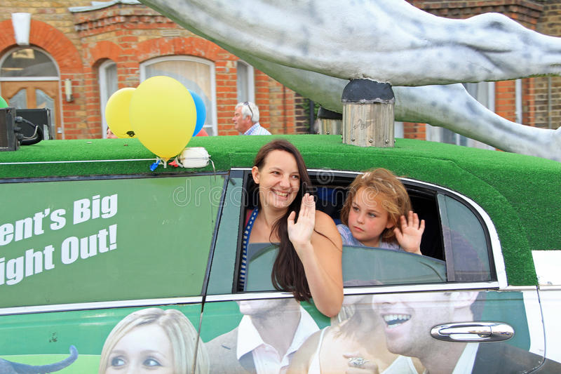 Filles de carnaval photos libres de droits