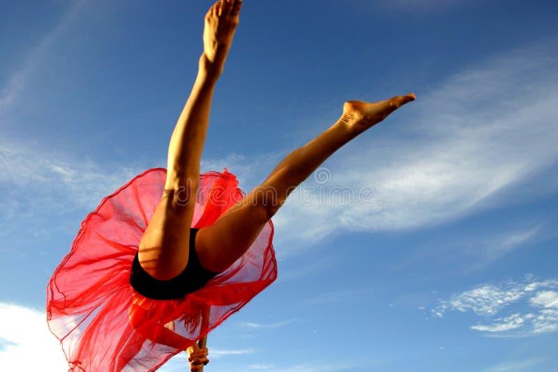 Filles de danse images stock