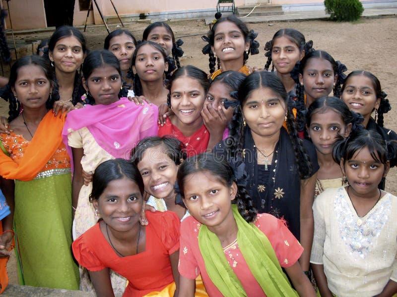 Filles indiennes images libres de droits