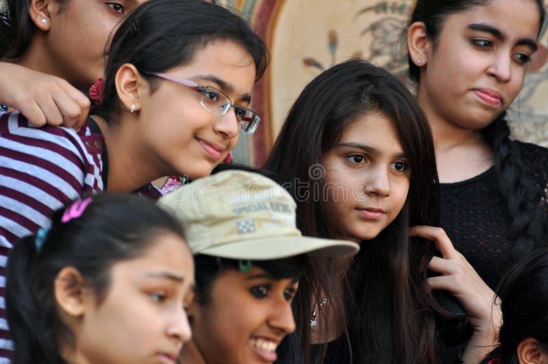 Filles indiennes photographie stock libre de droits