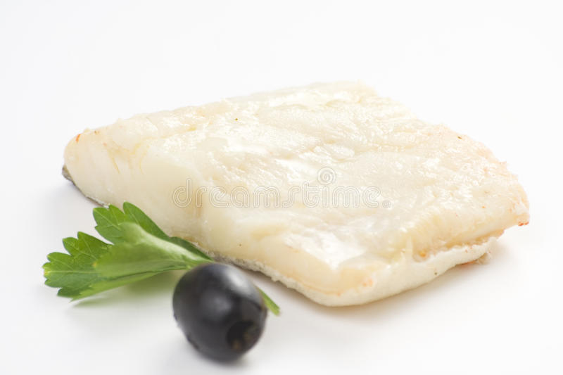 Download Fillet Of Cod Baked Tomatoes Zucchini Black Olives Stock Image - Image: 10320495